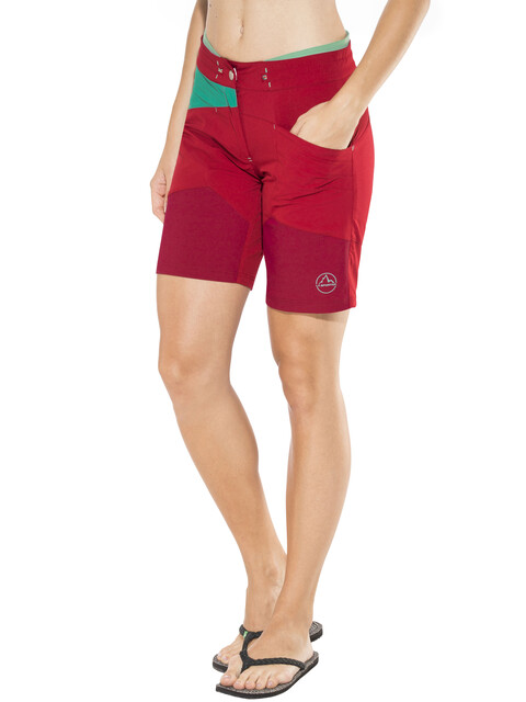 La Sportiva TX Shorts Women berry/emerald
